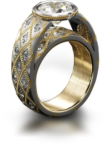 87 best contemporary jewelry images on pinterest rings for David s fine jewelry