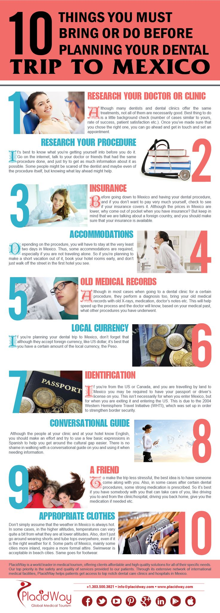 10 things you must bring or do before planning your dental ...