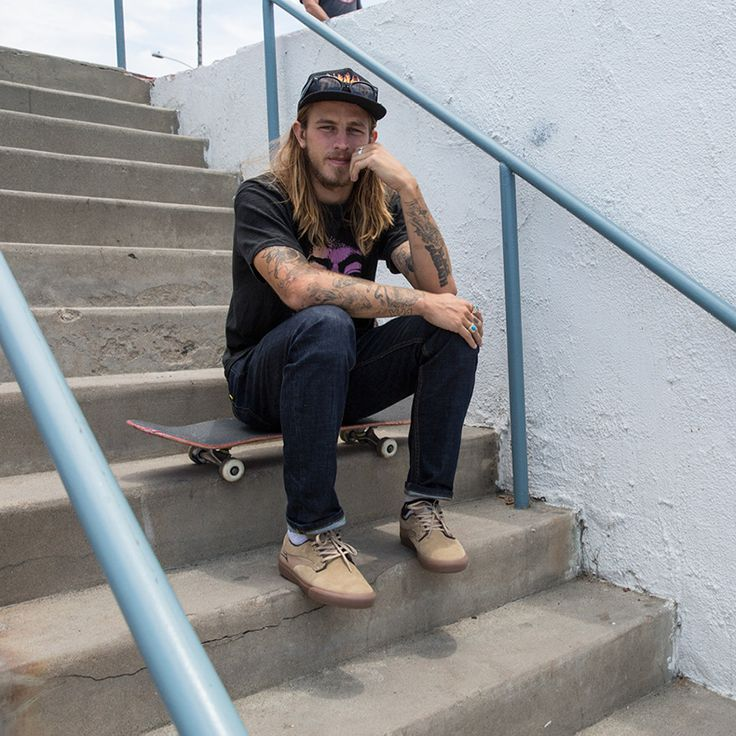 Skating royalty Riley Hawk has teamed up with Lakai for ...