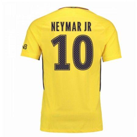 PSG Neymar Jr 10 Udebanetrøje 17-18 Kort ærmer