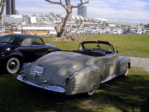 1941 Cadillac Convertible Coupe