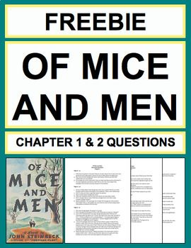 of mice and men discussion questions Of mice and men homework help questions in the end, why don't george and candy still buy the ranch after lennie is gone in of mice and lennie small is the keeper of the dream.