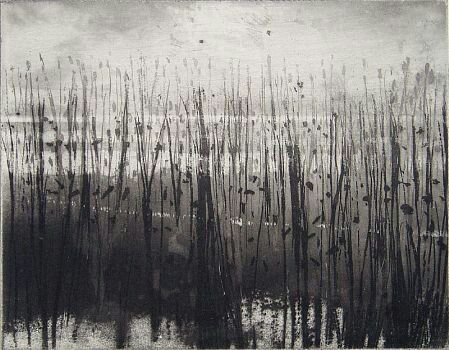 Norman Ackroyd 'Moored Man' including the etching 'Overy ... | art wo ...