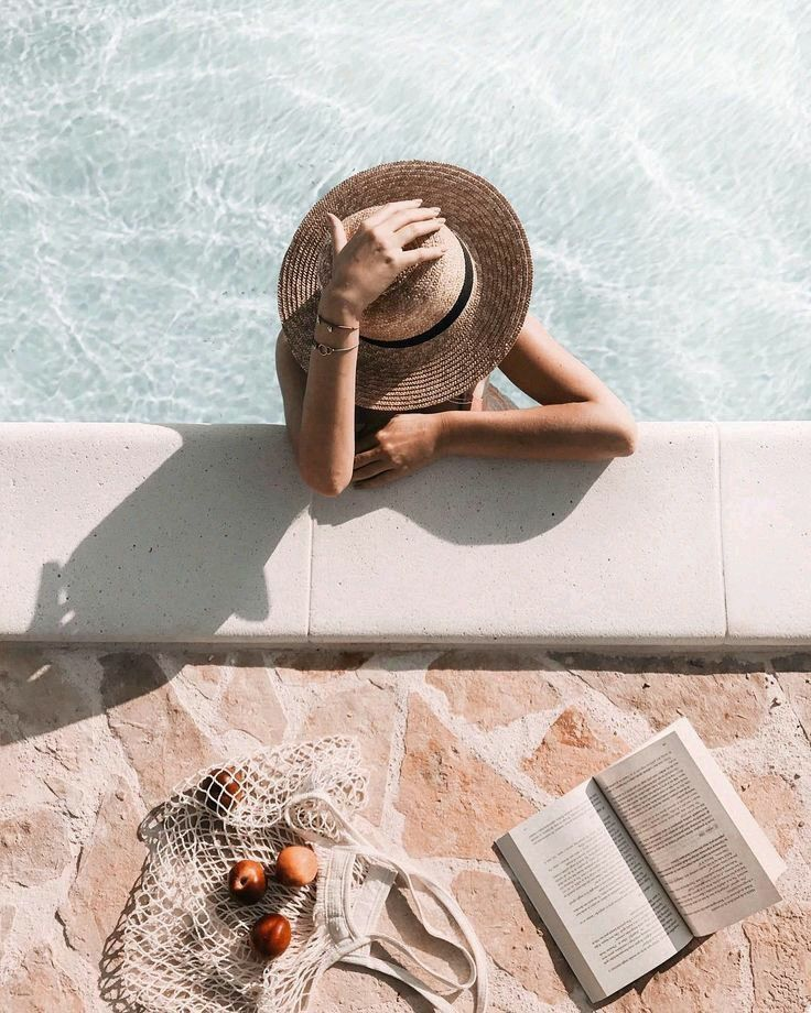 Summer Lounging By The Pool Summer Photography Summer Photos Summer Aesthetic