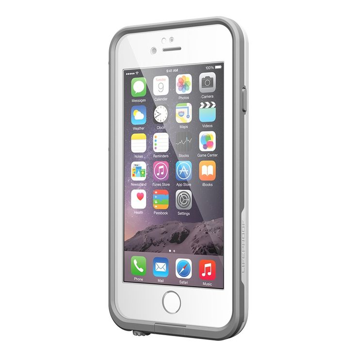 White / Gray LifeProof iPhone 6 Case