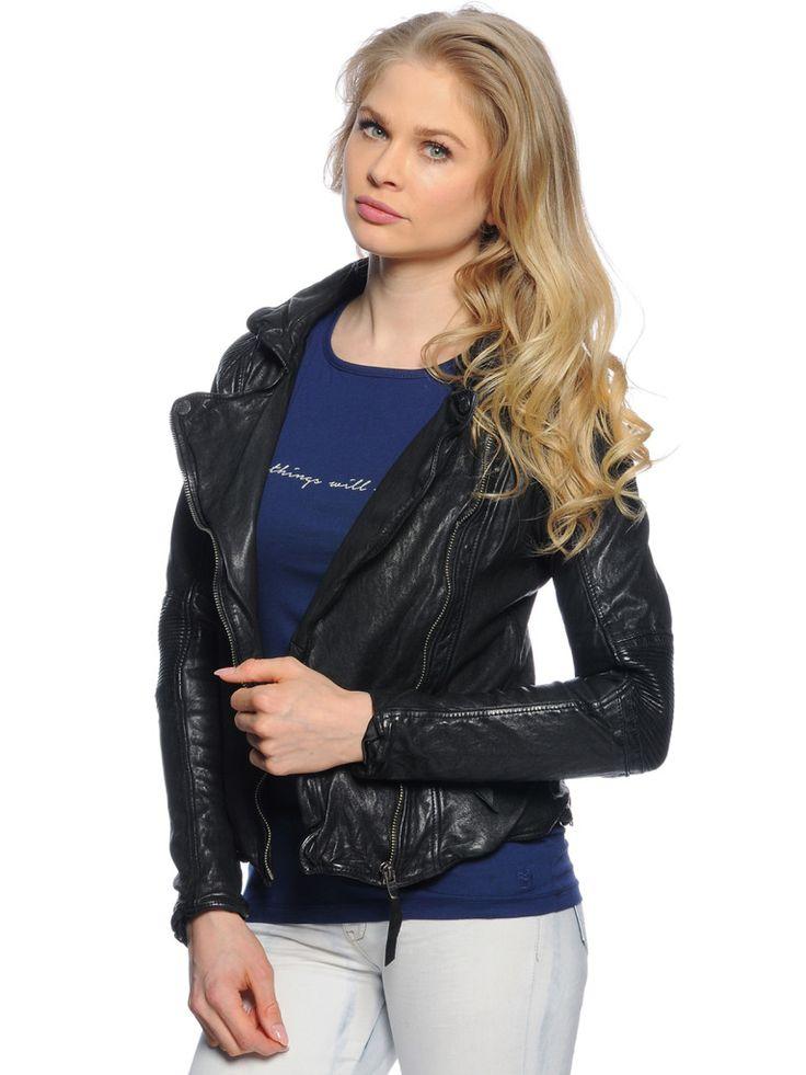Liebe dich ❤️tigha Lederjacke schwarz € 279,99 | -30%