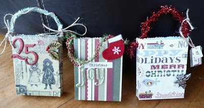 Wild About Scrap Design Team: Christmas Goodie or Gift Bags