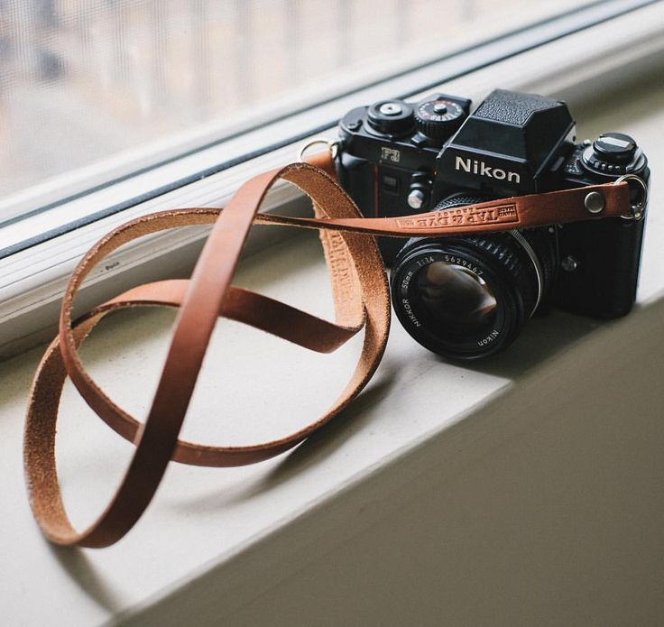 """tapanddye: """"Current Mood. Loving these window sill vibes from our friend Matt in the pnw. F3 with our classic dark amber legacy strap in tow got us wishin we could take it out for a spin.  #legacyshooters """""""