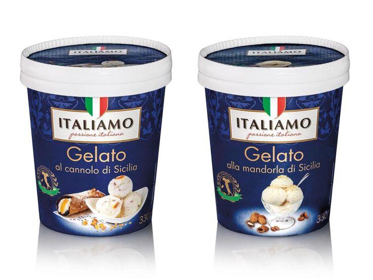 Lidl - Gelato Italiamo Al Cannolo Di Sicilia, 159  Cannolo Di Sicilia, Mandorla-9630