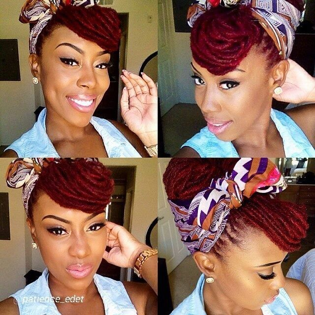 Love this dreaded pin up look