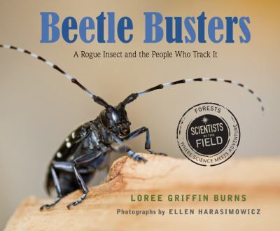 This book about the tree-killing Asian longhorned beetle reveals how the help of everyday people, their neighborhoods, teams of beetle-sniffing dogs, and a nationwide effort from bug scientists to tree doctors are working to eradicate this invasive pest.