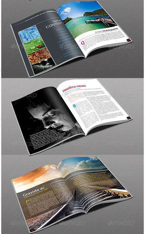 22 Pages Modern Magazine Templates
