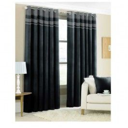 CLASSIC EYELET CURTAIN - PENCIL PLEAT £14.99