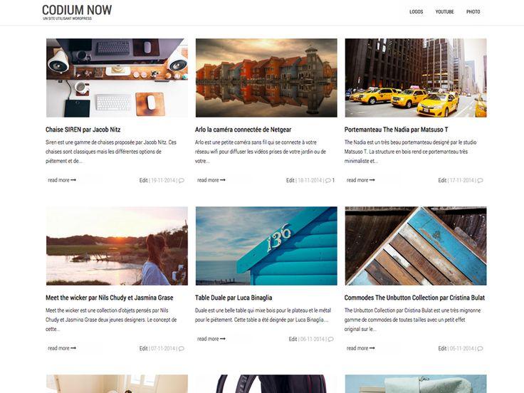 Codium Now — Free WordPress Themes