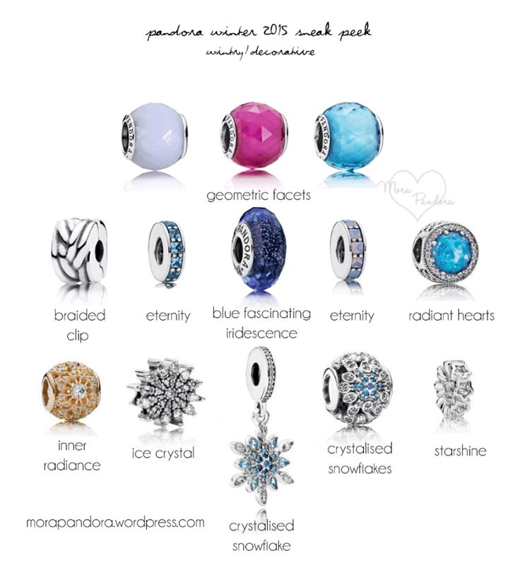 116 Best Images About Pandora 2015 Winter Collection On