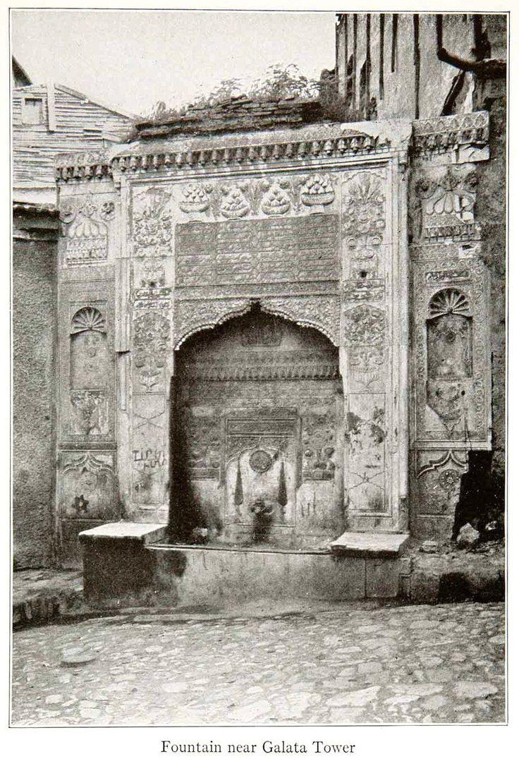 Bereketzade Çeşmesi, 1926