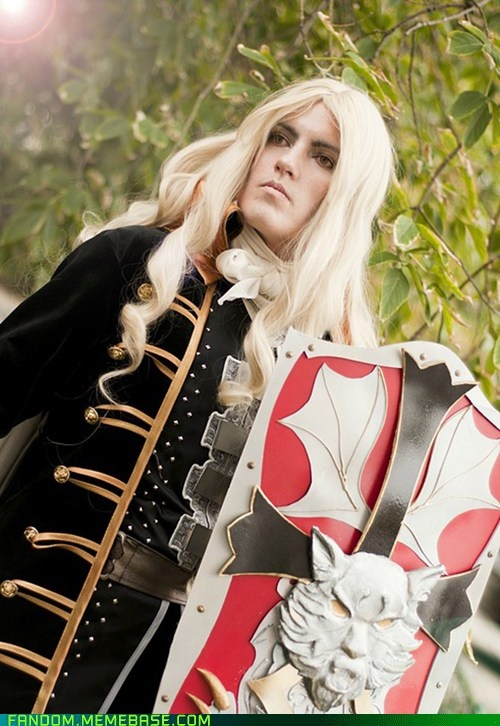 faeryx13's Alucard cosplay from Castlevania...Wow, this one is awesome, especially the shield...