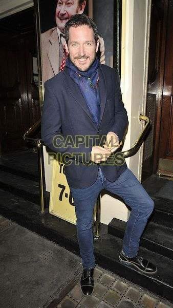 """LONDON, ENGLAND - MARCH 23: Bertie Carvel attends the """"Harvey"""" gala night, Theatre Royal Haymarket, Haymarket, on Monday March 23, 2015 in London, England, UK. <br /> CAP/CAN<br /> ©Can Nguyen/Capital Pictures"""