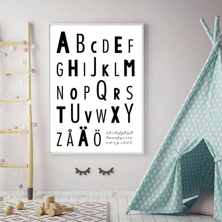 Aakkoset juliste @kirpunkoti Alphabets