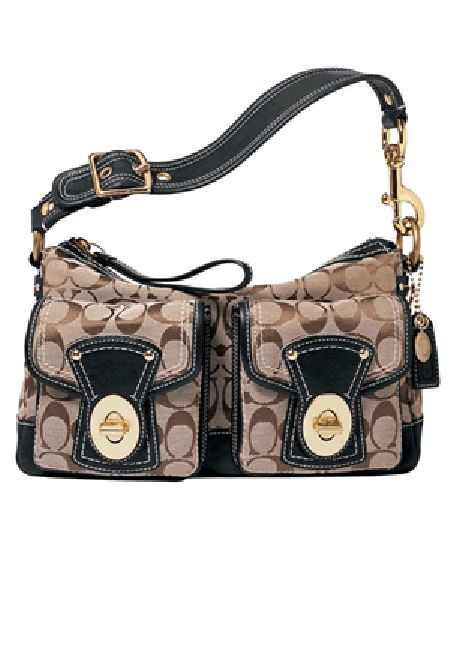 coach bags on sale outlet ogvj  Coach Signature Legacy Shoulder Bag