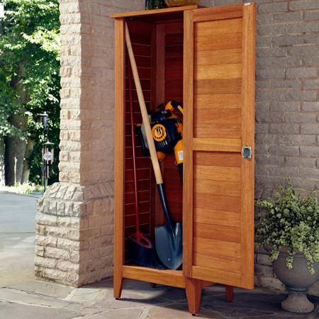 Home Styles Montego Bay 1-Door Multi-Purpose Outdoor Storage Cabinet, Eucalyptus - Walmart.com