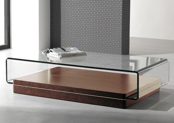 Table basse concord verre