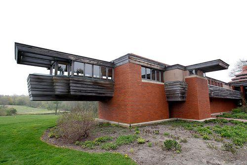 Les 2485 meilleures images du tableau art and architecture - Architecture organique frank lloyd wright ...