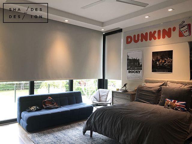 Motorized Blackout Shades Pinecrest Blackout Shades Motorized Blackout Shades Window Treatments Bedroom