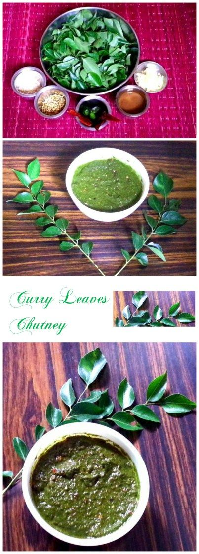 Curry leaves chutney is one of tastiest and healthy Chutneys. One of the best ways to gain the goodness of Curry Leaves.