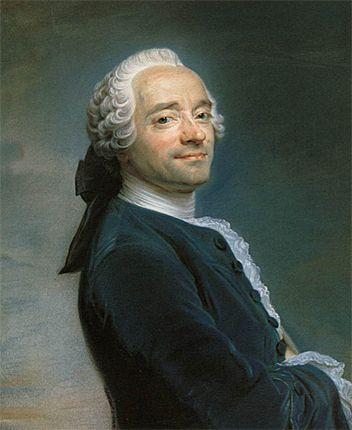 Autoportrait de Maurice-Quentin de Latour, 1751                              …