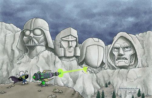 cobra commander vs megatron   Cobra Commander #Darth Vader ...