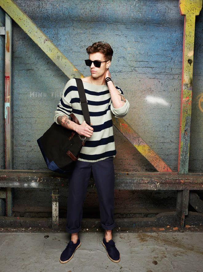 .Brandon Style, Fashion Style, Crazy Fashion, Clothing Men, Men Style, Stripes Sweaters, Men Fashion, Define Style, Menswear Fashion