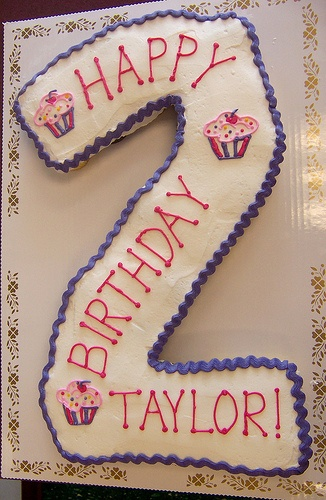 Number 2 Cake by Linda's Kitchen, via Flickr