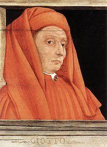Giotto - Reconocido artista de la época desarrolló varios ámbitos artísticos, destacando la poesía, escultura, arquitectura y sobre todo la pintura, considerándose este autor del Trecento uno de los iniciadores de movimiento renacentista en Italia, su obra tuvo una influencia determinante en los movimientos pictóricos posteriores.