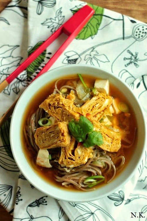 La Cuisine du Corti: Soupe miso aux nouilles soba et tamagoyaki