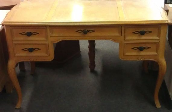 Vintage desk vanity dressing table by sligh by for Vanity table near me