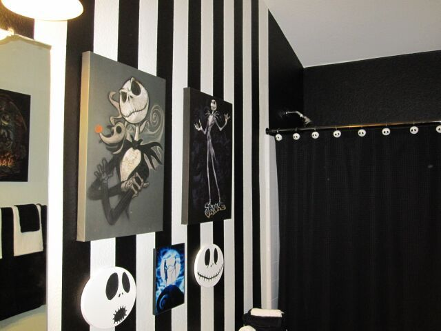 decor for the dark at heart visual inspiration nightmare before christmas