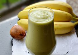 SMOOTHIE DE BANANE SI AVOCADO