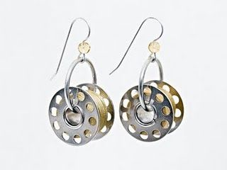 I love these #bobbin #earrings so much I am literally going to make them tonight. But what color?