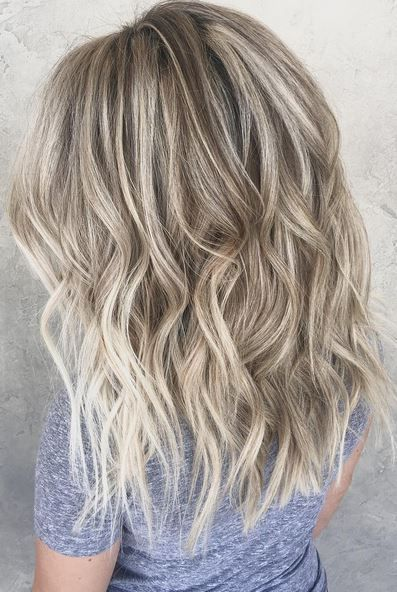 icy blonde highlights http://postorder.tumblr.com/post/157432633559/jet-black-hairstyle-ideas