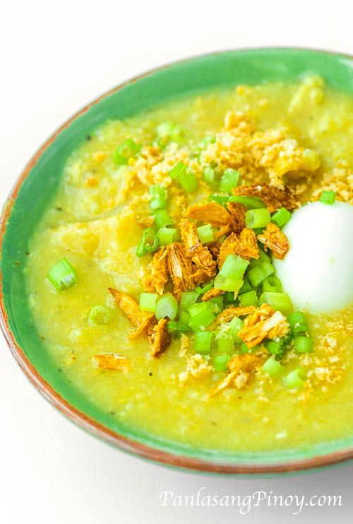 Goto is a type of rice porridge with innards of either pig or cow. This Special Goto Recipe uses both ox tripe and pig intestine.
