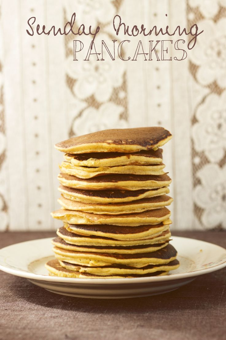 Sunday Morning Pancakes by Eat Me Blog | Breakfast Recipes | Pinterest