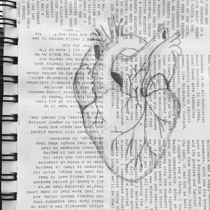 MEK art & design™   heart sketch