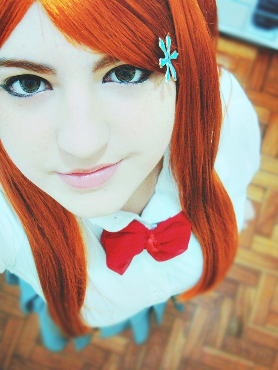 She's perfect, if anyone does a bleach movie with people, star her as Orihime