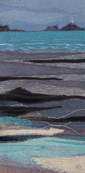 Textile Seascapes 2009 Evening at St. Ouen's Bay