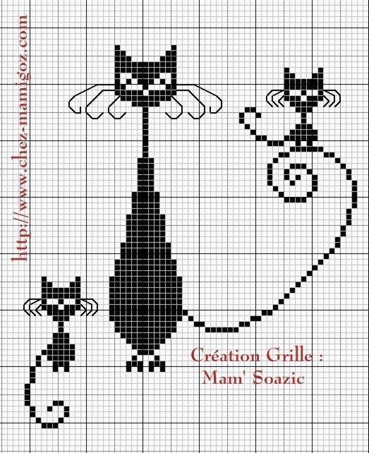 2998 best grilles point de croix images on Pinterest