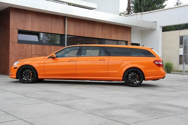 XXL Mercedes E-Klasse - made in Germany: Stretch(limousine)-Kombi X-Orange von Binz - Performance - Mercedes-Fans - Das Magazin für Mercedes-Benz-Enthusiasten