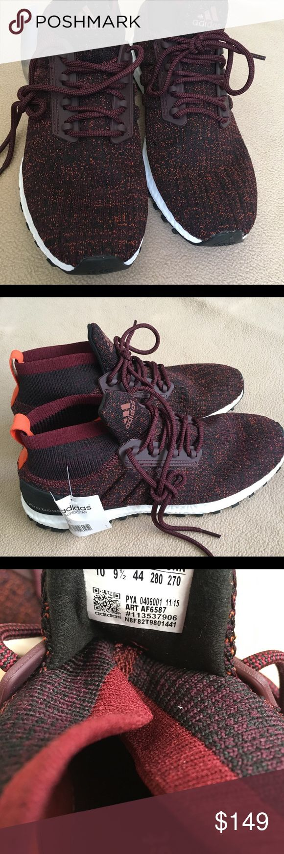 Adidas Ultra Boost Shoes Brand new adidas ultra boost shoes for men and women!  Men us 10 size  Women us 12 size adidas Shoes Athletic Shoes