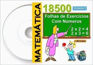 18500 Atividades Matemáticas - Vol. 1