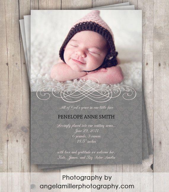 17 Best ideas about Birth Announcement Wording – Pinterest Birth Announcement